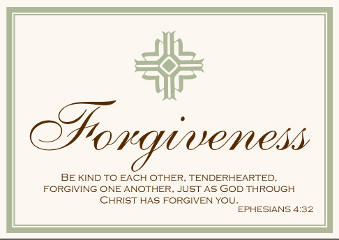 Forgive us and forgive others